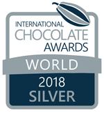 International silver medal for best nut-based milk chocolate praline 2018