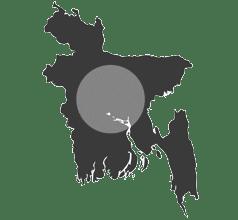 Entrega de chocolates en en Bangladesh